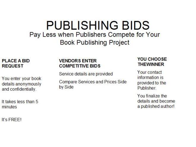 PUBLISHING BIDS